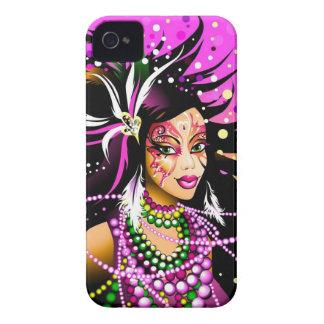 Caso del iPhone 4 del carnaval de los amores Funda Para iPhone 4 De Case-Mate
