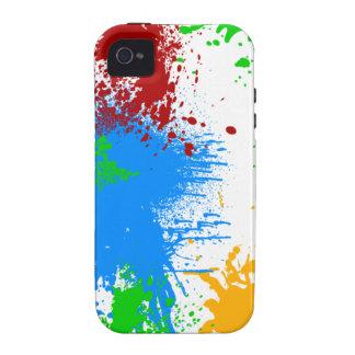 Caso del iPhone 4 del chapoteo del color Case-Mate iPhone 4 Funda