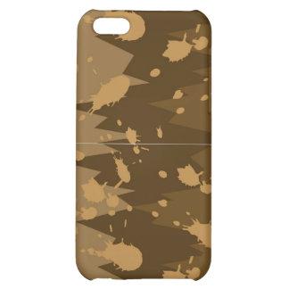 Caso del iPhone 4 del chapoteo del fango