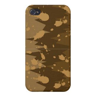 Caso del iPhone 4 del chapoteo del fango iPhone 4 Cobertura