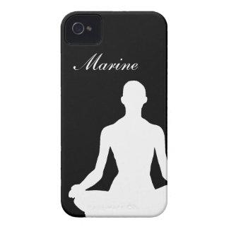 Caso del iPhone 4 del chica de la yoga Case-Mate iPhone 4 Cobertura