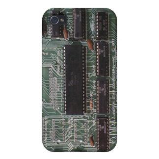 Caso del iphone 4 del chip de ordenador iPhone 4 carcasas