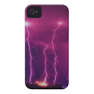 Caso del iPhone 4 del cielo de la iluminación de l Case-Mate iPhone 4 Coberturas