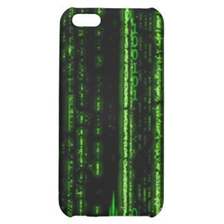 Caso del iPhone 4 del código binario