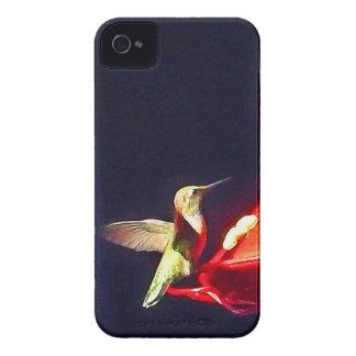Caso del iPhone 4 del colibrí Case-Mate iPhone 4 Funda