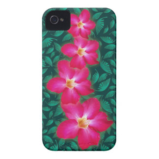 Caso del iPhone 4 del collage del rosa de desierto iPhone 4 Case-Mate Funda