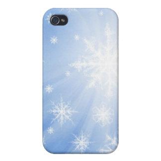 Caso del iPhone 4 del copo de nieve iPhone 4 Funda