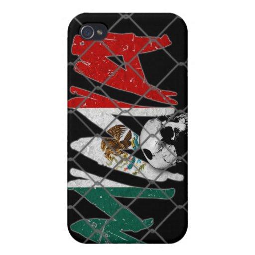Caso del iPhone 4 del cráneo del Muttahida Majlis- iPhone 4 Cárcasa
