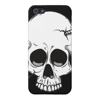 Caso del iPhone 4 del cráneo del tornillo iPhone 5 Protector
