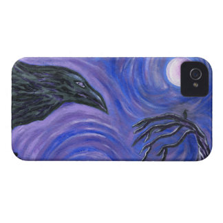 Caso del iPhone 4 del cuervo iPhone 4 Case-Mate Protector
