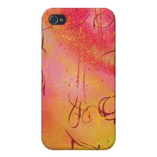 Caso del iPhone 4 del deslumbramiento de la pintad iPhone 4/4S Carcasas