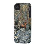 Caso del iPhone 4 del dragón del vintage iPhone 4 Carcasa