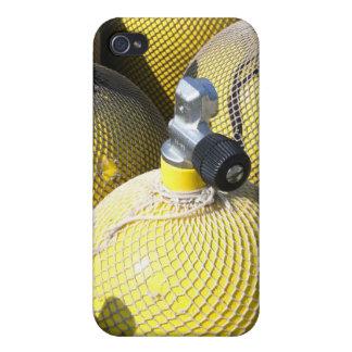 Caso del iPhone 4 del equipo del buceo con escafan iPhone 4/4S Funda