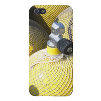 Caso del iPhone 4 del equipo del buceo con escafan iPhone 5 Coberturas