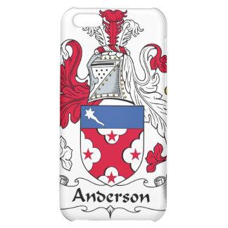 Caso del iPhone 4 del escudo de la familia de Ande
