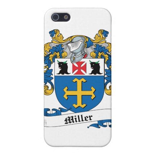 Caso del iPhone 4 del escudo de la familia de Mill iPhone 5 Cárcasas