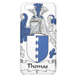 Caso del iPhone 4 del escudo de la familia de Thom