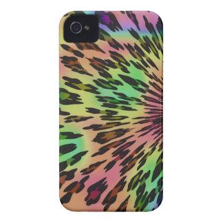 Caso del iPhone 4 del estampado leopardo del arco iPhone 4 Carcasa