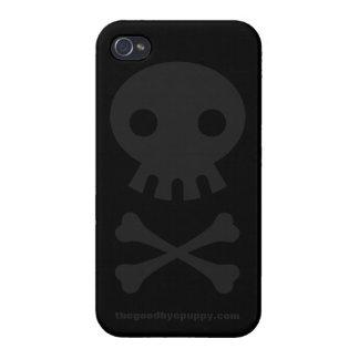 Caso del iPhone 4 del fantasma de Unlife iPhone 4 Carcasa