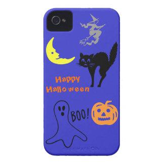Caso del iPhone 4 del feliz Halloween Case-Mate iPhone 4 Carcasa