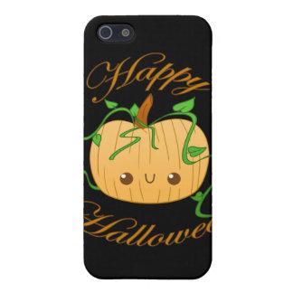 Caso del iPhone 4 del feliz Halloween iPhone 5 Funda