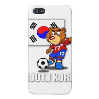 Caso del iPhone 4 del fútbol de la Corea del Sur d iPhone 5 Carcasa