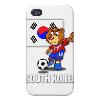 Caso del iPhone 4 del fútbol de la Corea del Sur d iPhone 4 Cárcasa