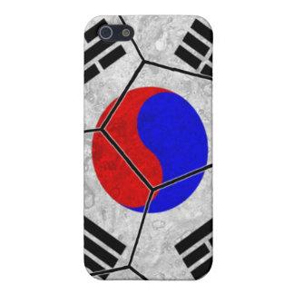 Caso del iPhone 4 del fútbol de la Corea del Sur iPhone 5 Protector