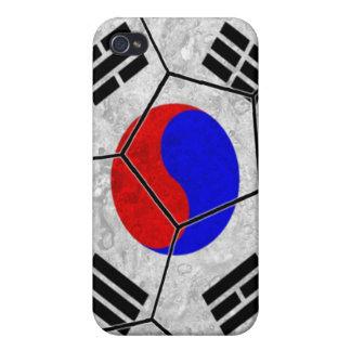 Caso del iPhone 4 del fútbol de la Corea del Sur iPhone 4/4S Fundas