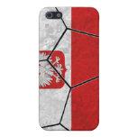 Caso del iPhone 4 del fútbol de Polonia iPhone 5 Cárcasas