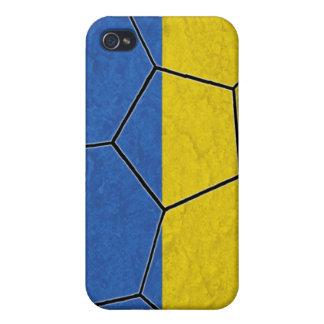 Caso del iPhone 4 del fútbol de Ucrania iPhone 4 Cárcasa
