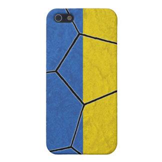 Caso del iPhone 4 del fútbol de Ucrania iPhone 5 Fundas