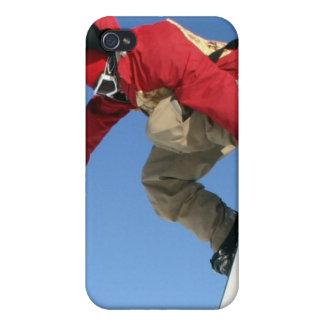 Caso del iPhone 4 del gancho agarrador de la snowb iPhone 4/4S Carcasas