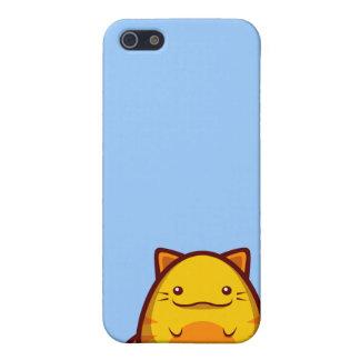 Caso del iPhone 4 del gatito de los cachos iPhone 5 Funda