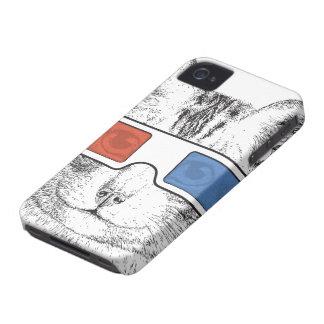 Caso del iPhone 4 del gato 3D Carcasa Para iPhone 4 De Case-Mate