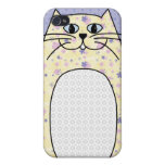 """Caso del iPhone 4 del """"gato amarillo"""" iPhone 4 Coberturas"""