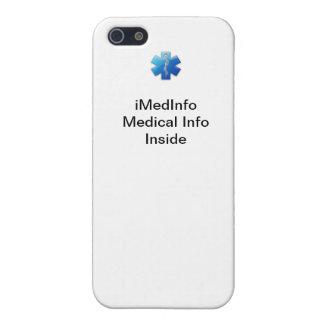 caso del iPhone 4 del iMedInfo iPhone 5 Protector