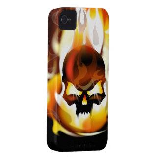Caso del iPhone 4 del infierno del cráneo iPhone 4 Cobertura
