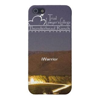 "caso del iPhone 4 del ""iWarrior"" iPhone 5 Funda"