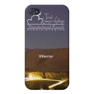 "caso del iPhone 4 del ""iWarrior"" iPhone 4/4S Fundas"