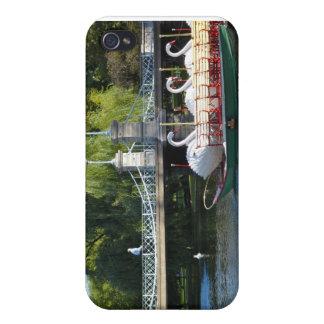 Caso del iPhone 4 del jardín público de Boston iPhone 4/4S Carcasa