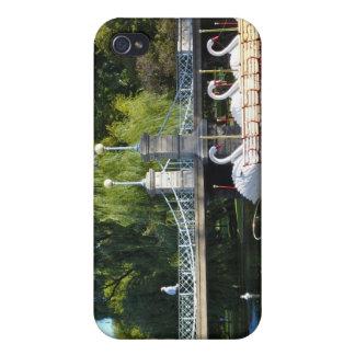 Caso del iPhone 4 del jardín público de Boston iPhone 4 Carcasa