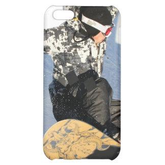 Caso del iPhone 4 del lanzamiento de la snowboard