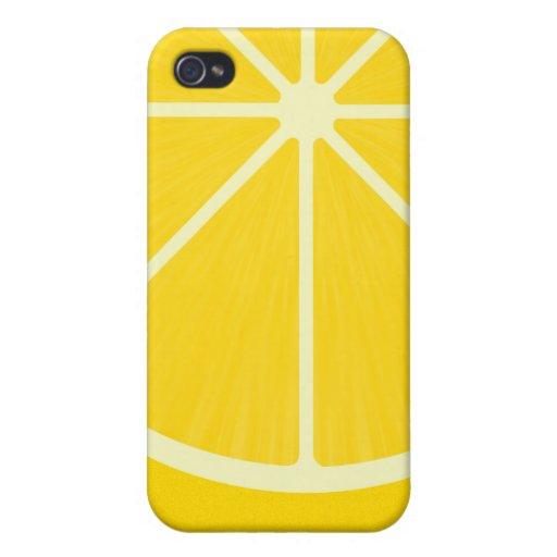 Caso del iPhone 4 del limón iPhone 4 Cárcasa