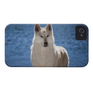 Caso del iPhone 4 del lobo de Arctice iPhone 4 Protector