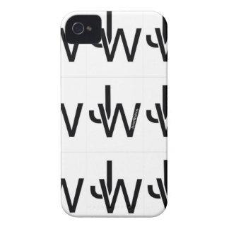 Caso del iPhone 4 del logotipo de JaredWatkins iPhone 4 Case-Mate Funda