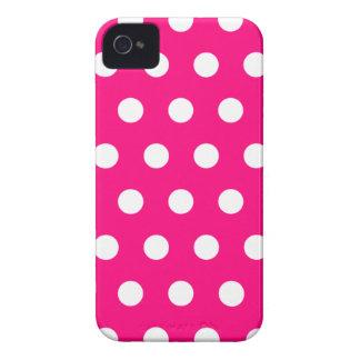 Caso del iPhone 4 del lunar de las rosas fuertes Case-Mate iPhone 4 Protector
