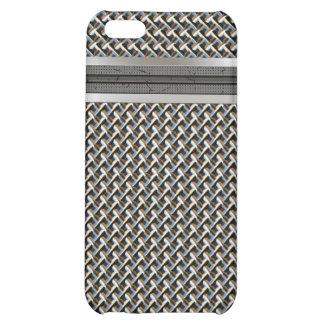 Caso del iPhone 4 del micrófono del metal