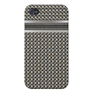 Caso del iPhone 4 del micrófono del metal iPhone 4/4S Carcasas