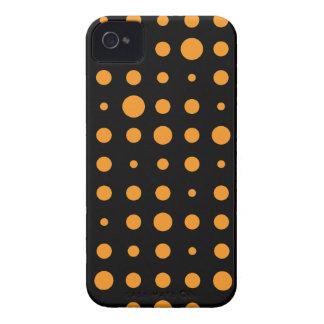 Caso del iPhone 4 del modelo de lunar de Halloween iPhone 4 Fundas